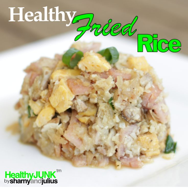 Healthy Fried Rice | Sharny and Julius