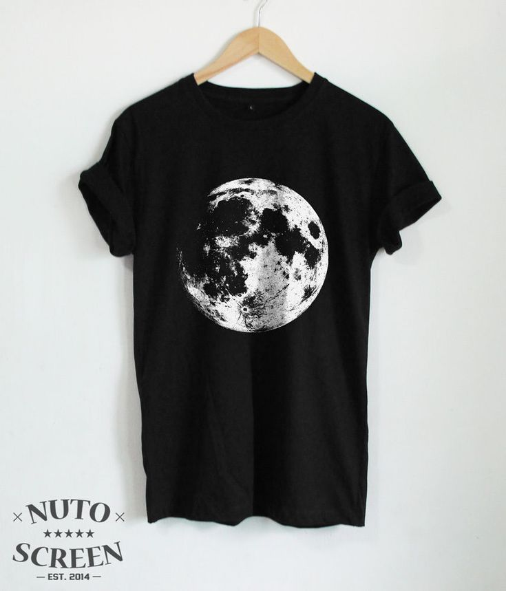 MOON T-SHIRTS FULL MOON SHIRT TUMBLR UNISEX TOP LUNAR TEE ECLIPSE SPACE SHIRTS #Unbranded #GraphicTee