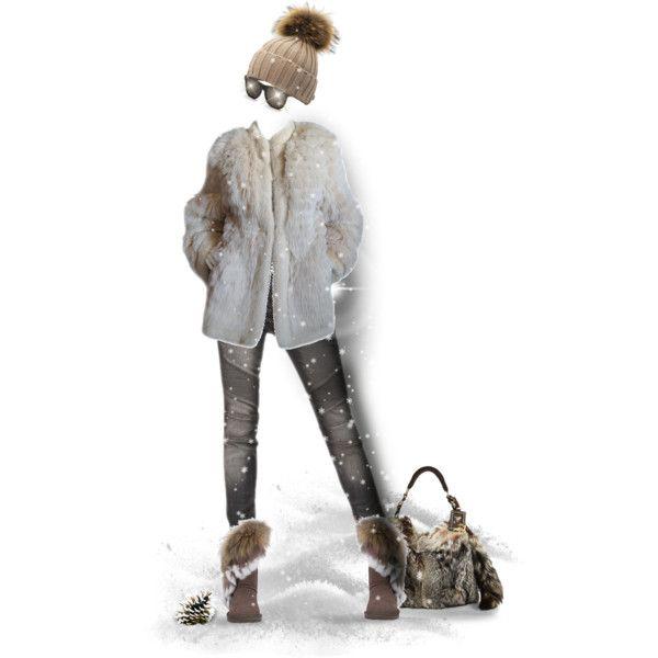SNOW COZY by kiki-parker on Polyvore featuring Yves Saint Laurent, Balmain, Akira Black Label, Prada, RetroSuperFuture, women's clothing, women's fashion, women, female and woman