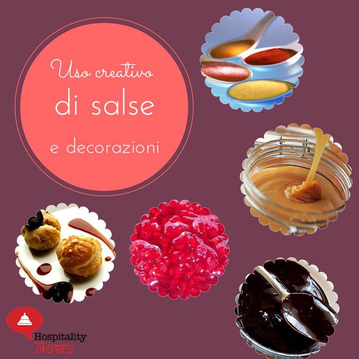 Consigli per vendere il dessert al ristorante #1 Uso creativo di salse e decorazioni #restaurantmarketing http://www.hospitalitynews.it/ristorante-10-consigli-per-incrementare-vendita-dei-dessert/