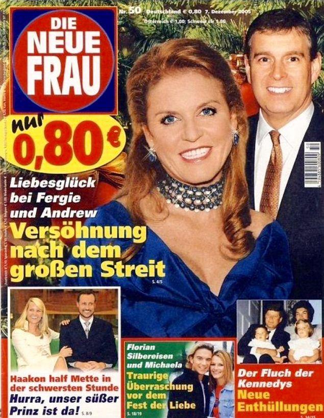 Sarah Ferguson DIE NEUE FRAU Nr. 50 vom 07. Dezember 2005 -