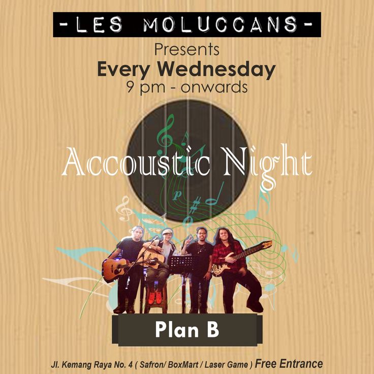 Every wednesday AccousticNight