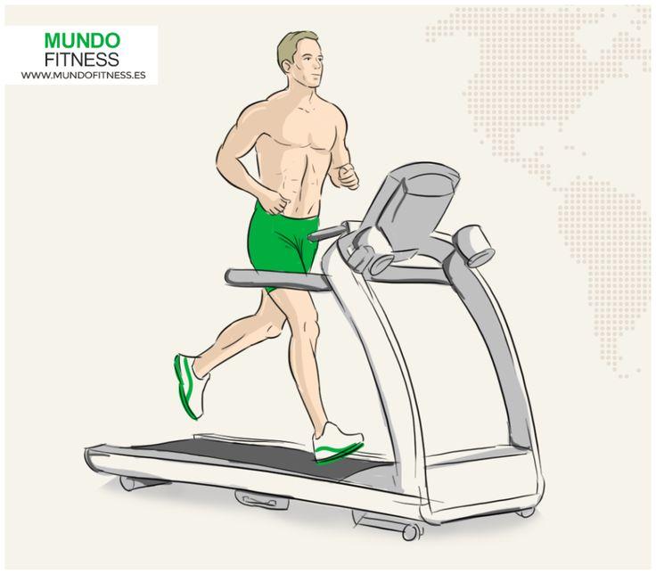 Intervalos en cinta de correr Súbete a la cinta de correr y aumenta la velocidad hasta el sprint. Corre tan rápido como puedas, de manera segura, durante 30 segundos. Recupera desacelerando hasta un caminar lento, durante 40 segundos. Esto es un intervalos. Haz 6.