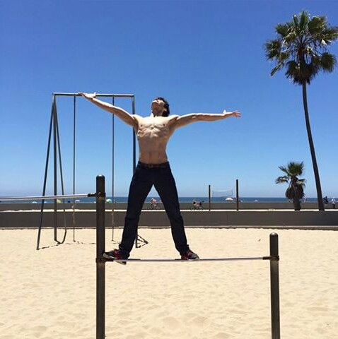 Roberto Bolle in Los Angeles