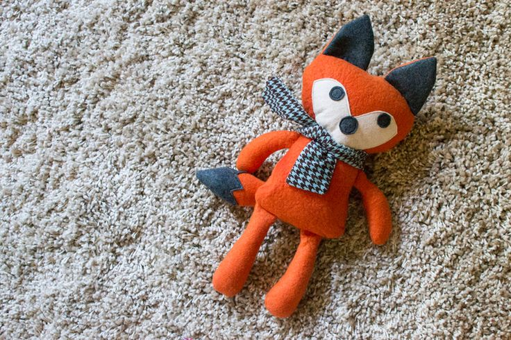 Fox- this dapper fellow is from a free tutorial and pattern over at Stitched by Crystal.