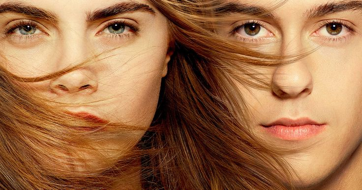 'Paper Towns' Poster with Cara Delevingne and Nat Wolff -- Nat Wolff and Cara Delevingne are featured on the poster for 'Paper Towns', with author John Green debuting the first trailer next week. -- http://www.movieweb.com/paper-towns-movie-poster-trailer