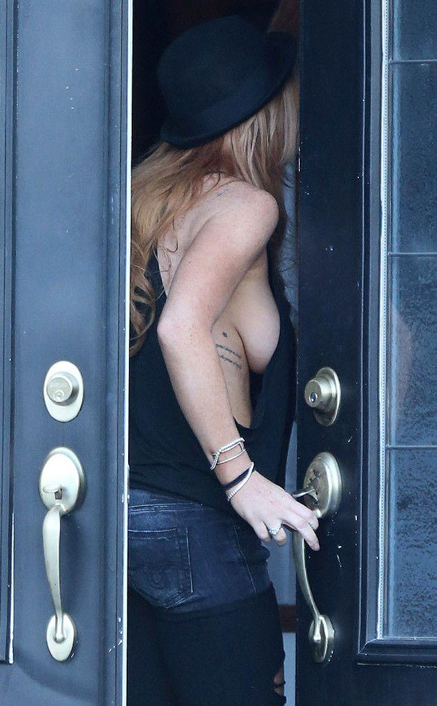 Carly nude at boob study