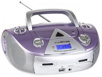 Rádio MP3 CD AM/FM 4 Watts RMS - Philco PB126