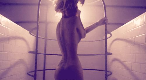 """Pin for Later: All About That Booty: 28 of the Best Music Video Butt Moments """"Bad Romance"""" — Lady Gaga, 2010 Watch the video here."""