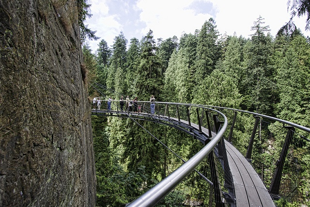 Cliffwalk, North Vancouver, BC, Canada | by Kadacat (Marlene), via Flickr