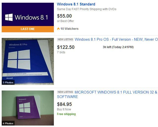 Need A Legal & Cheap Windows 8 License? These Are Your Options