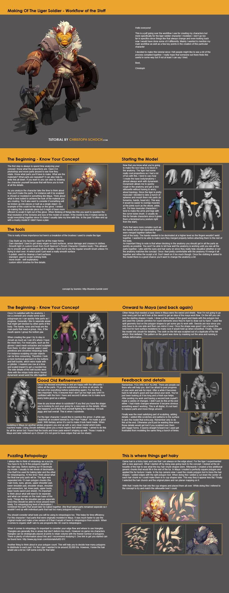 Lion Warrior - Page 2 - Polycount Forum