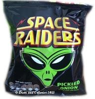 Diets and Calories: Space Raiders Pickled Onion Baked Snacks