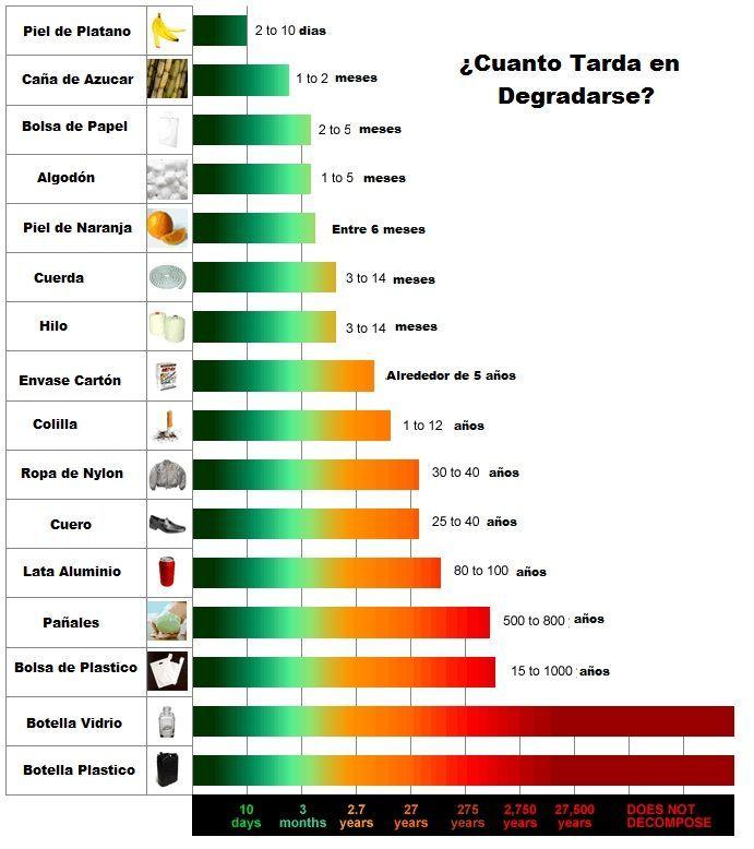 Cuanto Tarda En Degradarse Piel De Naranja Caña De Azucar Envases