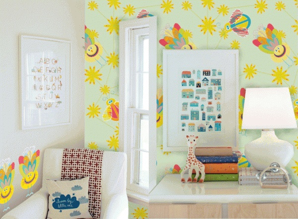 Customized Childrens Wallpaper Designs by Lauren Cloete, via Behance