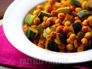Curry z kabaczka i ciecierzycy