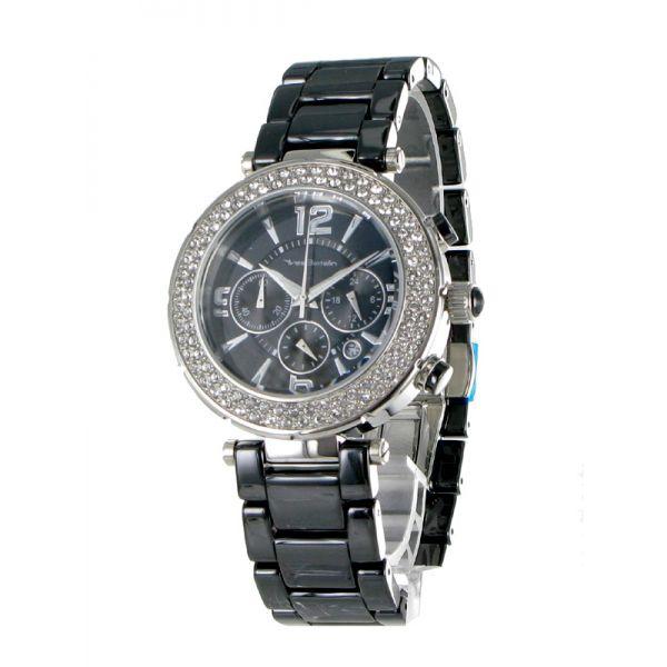 http://unemontretendance.com/1200-montre-femme-acier-et-ceramique-noire-chronos-et-strass-yves-bertelin.html