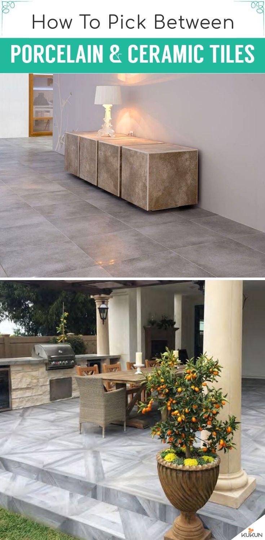 Porcelain Vs Ceramic Tile Which Is The Better Option With Images Porcelain Vs Ceramic Tile Porcelain Vs Ceramic Ceramic Tiles
