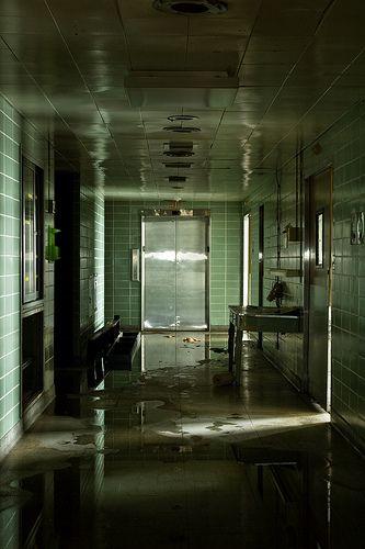 Abandoned Chicago Hospital