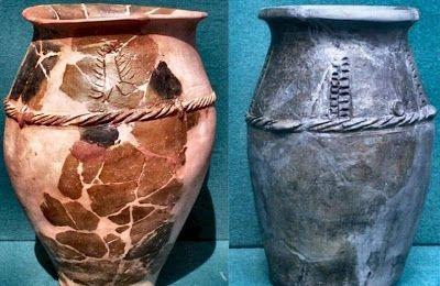 Dacian pottery, jar-type vessel, found in Cetatea Zânelor din Covasna