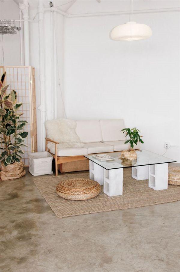 cinder block bench see more 12 meubles diy fabriquer avec des parpaings