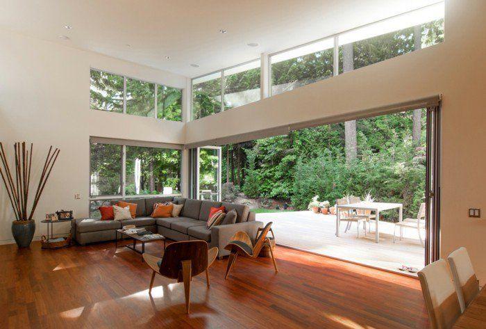 Fenetre avec ouverture par le haut Maison Et Devis Living room