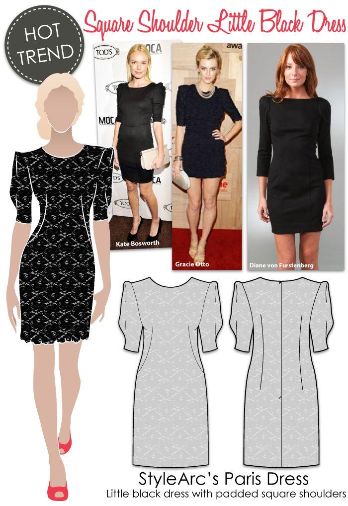 Patterns based on celebrity style