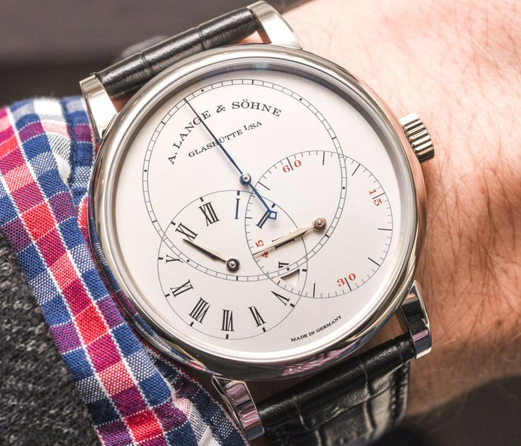 Up now: A. Lange & Söhne Richard Lange Jumping Seconds Watch Hands-On - by Kenny Yeo - More on this 39.9mm platinum piece with jumping seconds at aBlogtoWatch.com