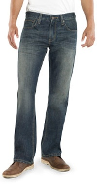 Denizen 233 - Low Boot - Dark blue 30x32 - These are great jeans.
