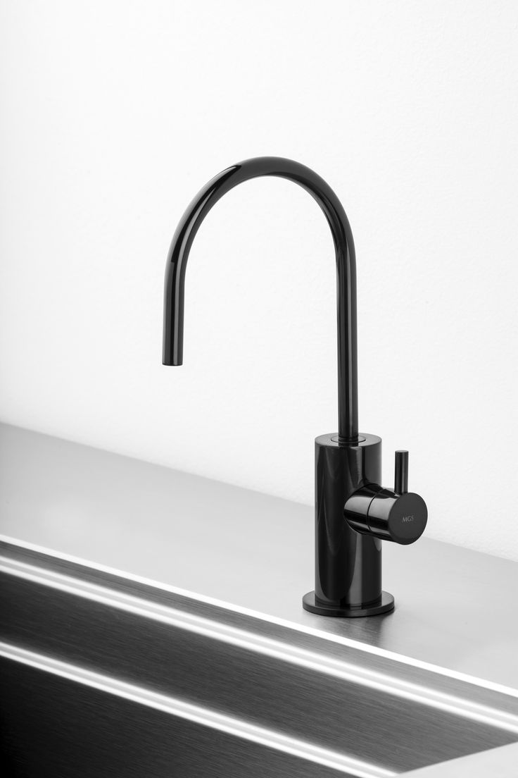 Spin Fw Filtered Water Tap In Black Onyx Mgs Stainless