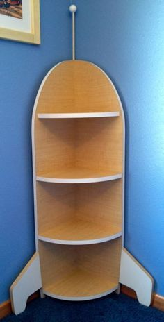 Rocket Ship Bookshelf