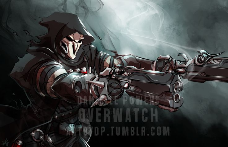 Overwatch Community — artbydp: Reaper (Overwatch) Available in ...