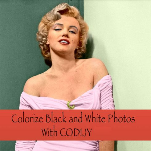 Colorize Black and White Photos With CODIJY – just $15