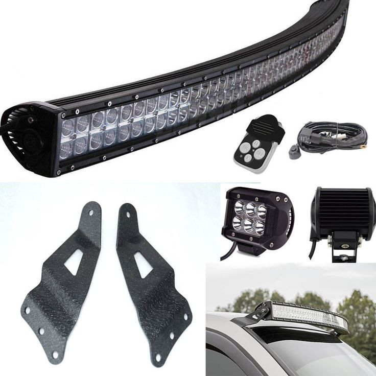 50inch Curved LED Light Bar Mount Bracket Fit for 1999-2006 Chevy Silverado 1500