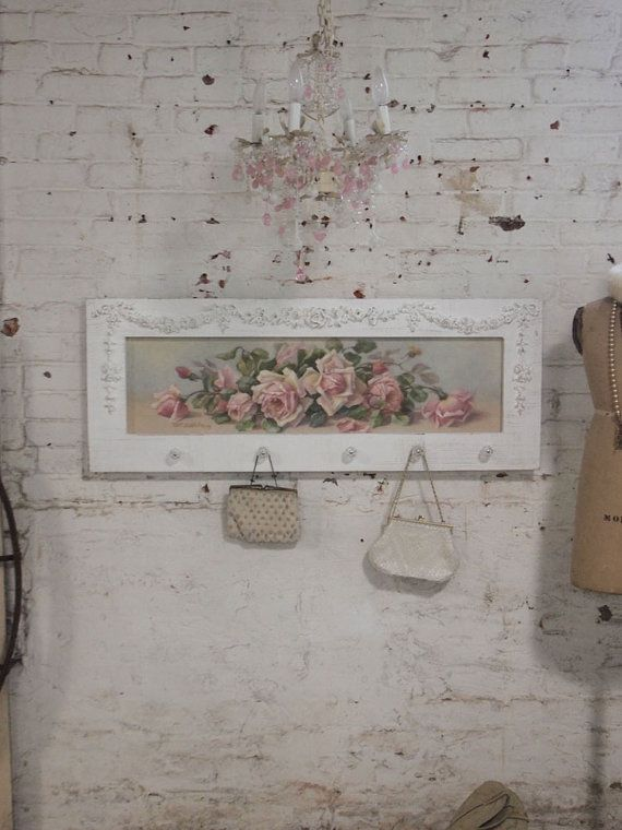 Painted Cottage Chic Shabby Romantic Rose by paintedcottages, $230.00