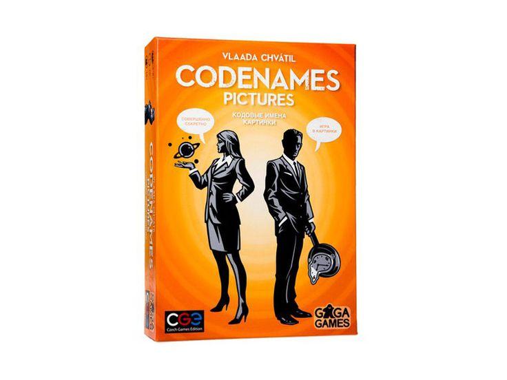 Настольная игра Кодовые имена. Картинки (Codenames. Pictures)    Новая версия в русскоязычном издании
