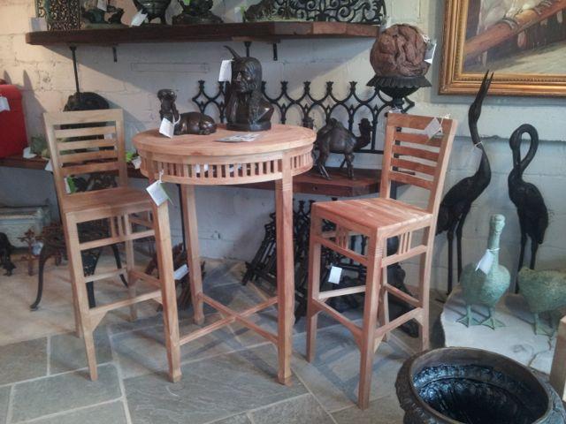 Beautiful teak bar set