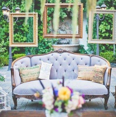 Фотозона на свадьбу. Уголок