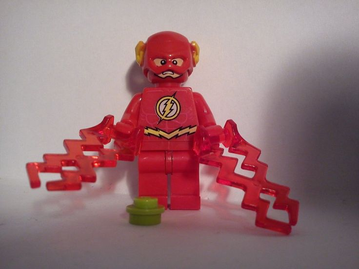 figurka FLASH batman xinh +klocek lego