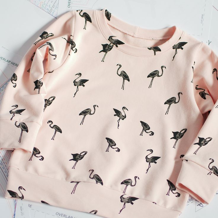 Sweatshirt sewing pattern PDF, easy sewing pattern, baby sewing patterns pdf, kids sewing pattern.