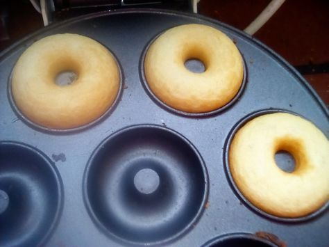 Ciambelline donuts ricetta con la piastra