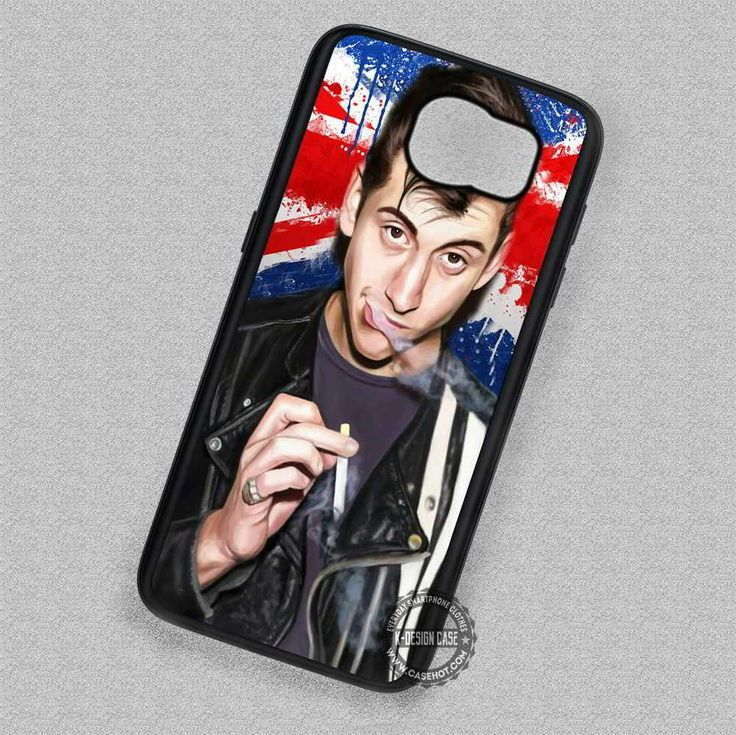 Band Alex Turner Arctic Monkeys England Flag - Samsung Galaxy S7 S6 S5 Note 7 Cases & Covers