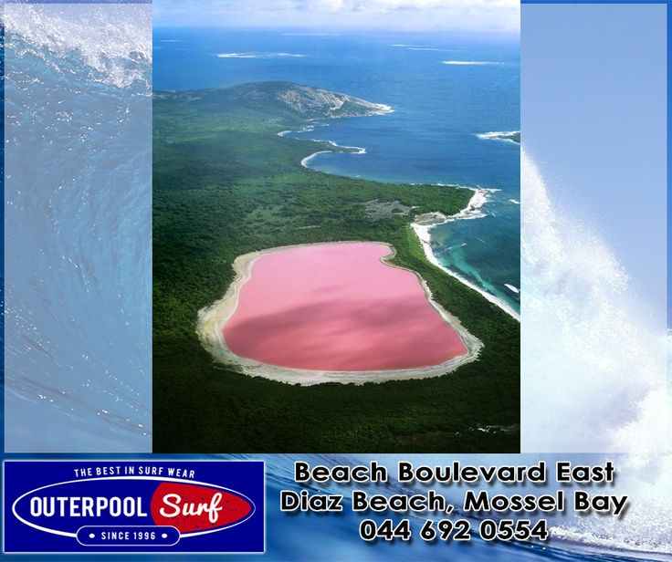 Hiller lake(pink lake), Western Australia. Scientists have proven the strange pink color is due to the presence of algae which is usually the cause of strange coloration.  #BeautifulPlaces #PinkLakes