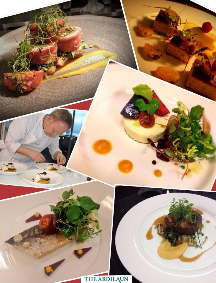 Some meals created by our talented chefs, Ardilaun Hotel, Galway.