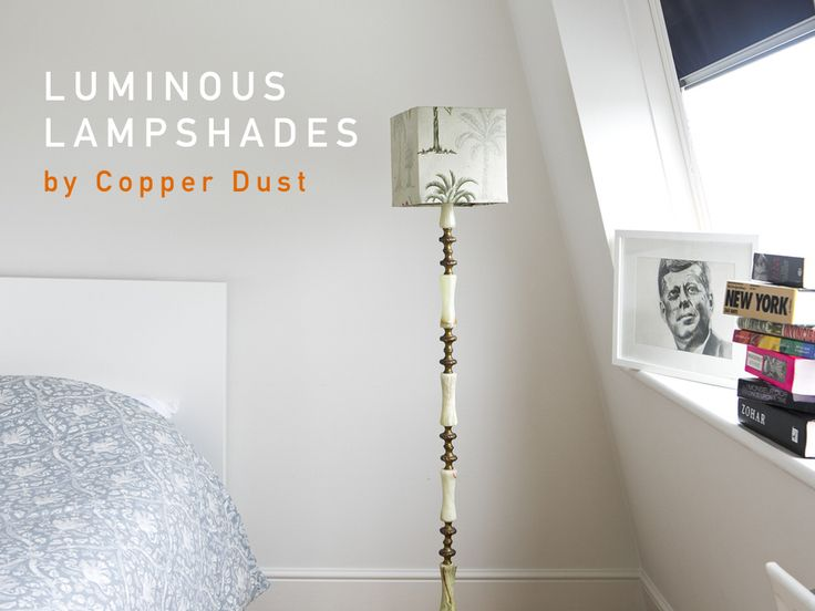 Finding the perfect lampshade for your home can be tricky. Here's a collection of gorgeous handmade lampshades chosen by Vanessa from Copper Dust.