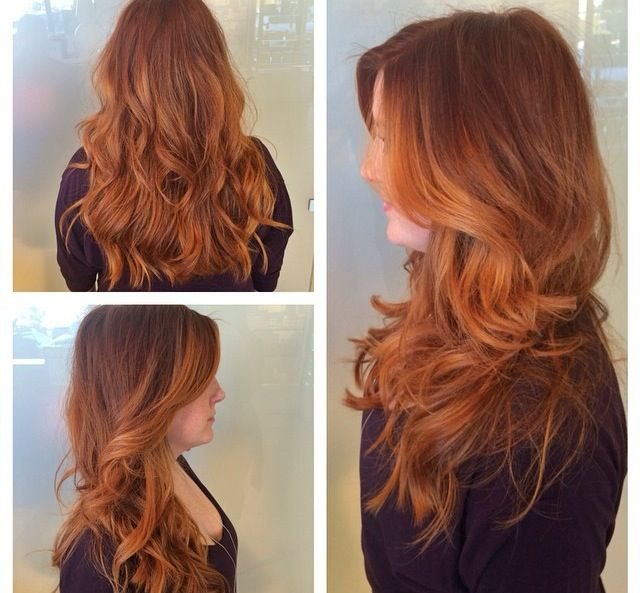 Balayage Hairstyle brown ombre balayage hairstyle long wavy hair with highlight long brown hair with blonde Best 20 Copper Balayage Ideas On Pinterest Balayage Hair Colour Copper Ombre And Red Balayage Hair