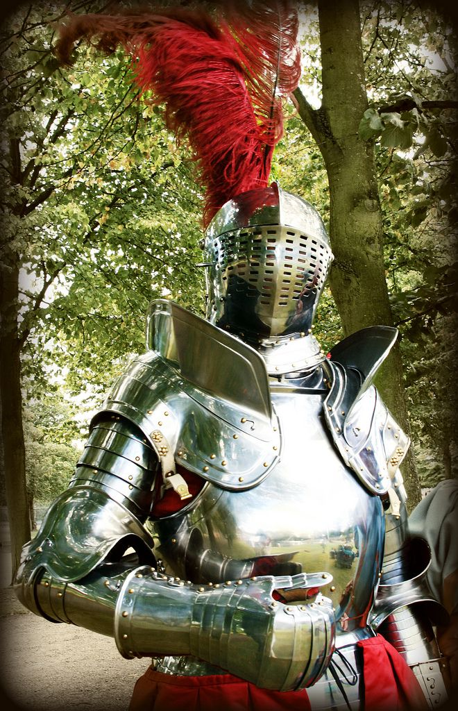 Knight in shining armor... just what I was looking for...
