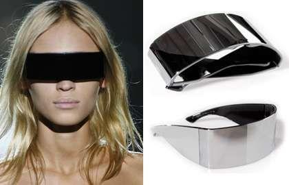 """Maison Martin futuristic sunglasses called """"incognito"""""""