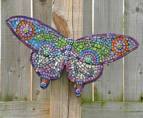 Mosaic Craft Example - Butterfly