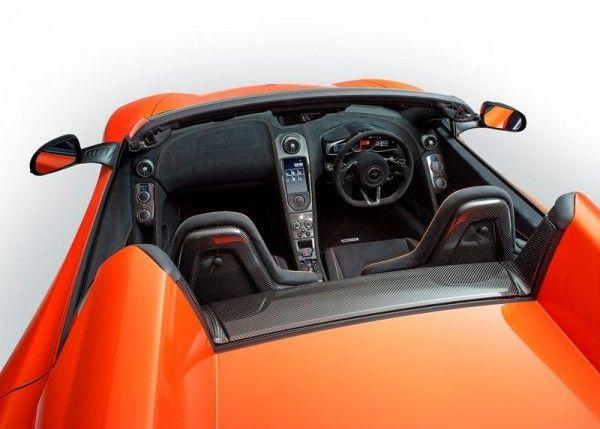 2015 McLaren 650S Spider interior photos 600x429 2015 McLaren 650S Spider Review Details